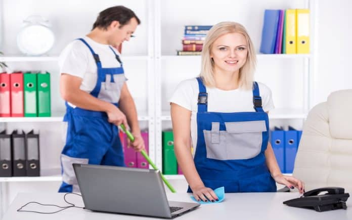 Impact of office cleaning services